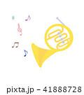 素材-楽器(ホルン)2 41888728
