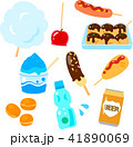 日本のお祭り屋台の食べ物 41890069