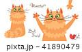 ベクトル ねこ ネコのイラスト 41890479