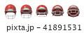 アメリカ アメリカン ヘルメットのイラスト 41891531