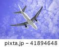 離陸する飛行機  ボーイング777-200 41894648