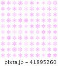 雪の結晶100個セット-02■素材・スノーフレーク・ピンク 41895260