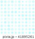 雪の結晶100個セット-03■素材・スノーフレーク・ブルー 41895261