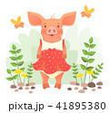 piggy in dress 41895380