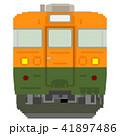 ドット絵風の電車(165系:湘南色) 41897486