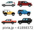 車 自動車 近代的のイラスト 41898372