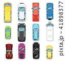 車 自動車 近代的のイラスト 41898377
