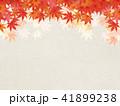 背景 和柄 紅葉のイラスト 41899238