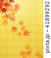 背景 紅葉 秋のイラスト 41899292