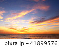 朝焼け雲 久慈浜海岸 茨城県日立市 41899576