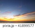 朝焼け雲 久慈浜海岸 茨城県日立市 41899577