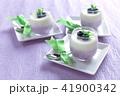 ブルーベリーのレアチーズケーキ 41900342