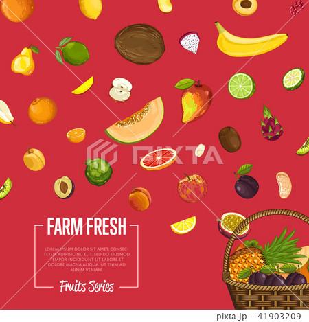 Fresh organic fruitposter 41903209