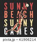 バレー バレーボール スポーツのイラスト 41906214