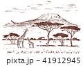 景色 風景 ベクターのイラスト 41912945