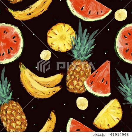 Seamless summer watermelon abstract pattern 41914948