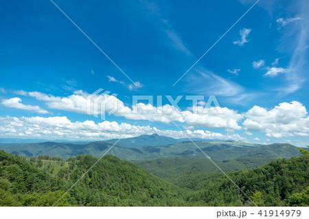 信州 三峰展望台からの眺め 41914979
