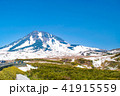 羅臼岳 山 自然の写真 41915559