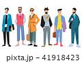 ファッション 流行 ポートレートのイラスト 41918423