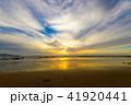 夕景 夕方 海の写真 41920441