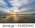 夕景 夕方 海の写真 41920442