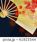 金箔 和柄 扇子のイラスト 41923344