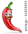 チリ 胡椒 チリペッパーのイラスト 41929303