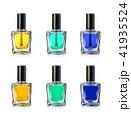 Nail polish bottles on white background vector illustration 41935524