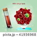 HIV ウィルス ウイルスのイラスト 41936968
