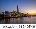 night view of london by the thames river 41940549