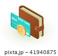 お財布 サイフ 財布のイラスト 41940875