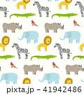 動物 パターン 柄のイラスト 41942486