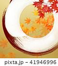 金箔 丸 和柄のイラスト 41946996