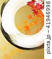 金箔 丸 和柄のイラスト 41946998