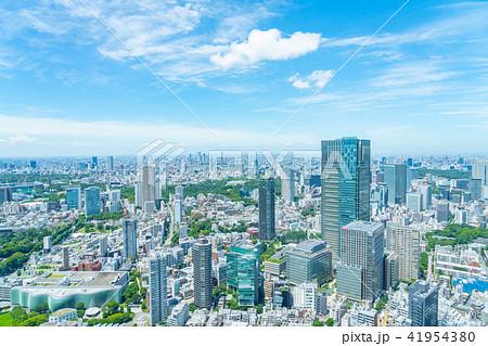 【東京都】都市風景 41954380