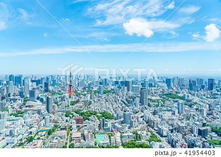 【東京都】都市風景 41954403