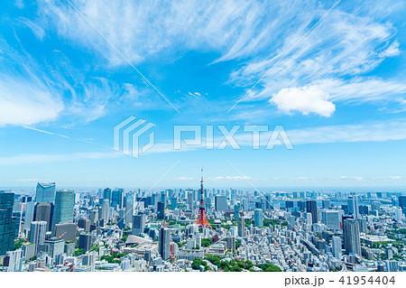 【東京都】都市風景 41954404