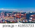港 コンテナヤード コンテナターミナルの写真 41955733