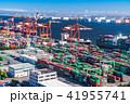 港 コンテナヤード コンテナターミナルの写真 41955741