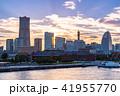 横浜 みなとみらい 街並みの写真 41955770