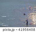 鮎の友釣り 41956408