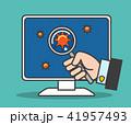 テスト 試験 ソフトウェアのイラスト 41957493