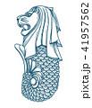 Singapore merlion icon 41957562