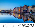 night view of leith by the river 41958278