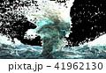 Blue water surface splashing, 3D Rendering. 41962130