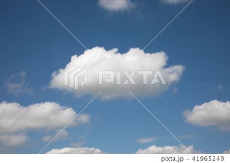 青空と雲横 41965249