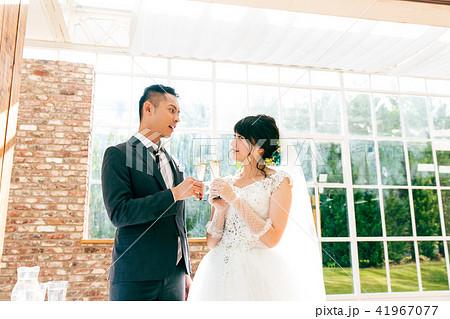 結婚式 パーティー シャンパン 41967077