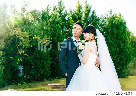 フォトウエディング 結婚 新郎新婦 41967104