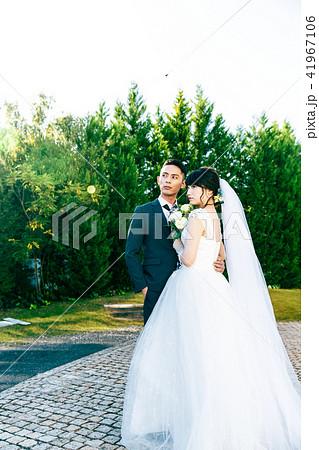 フォトウエディング 結婚 新郎新婦 41967106