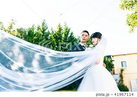 フォトウエディング 結婚 新郎新婦 41967114